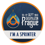 I'm a sprinter at DrupalCon Prague